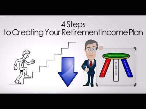 Create Your Retirement Income Plan In 4 Easy Steps