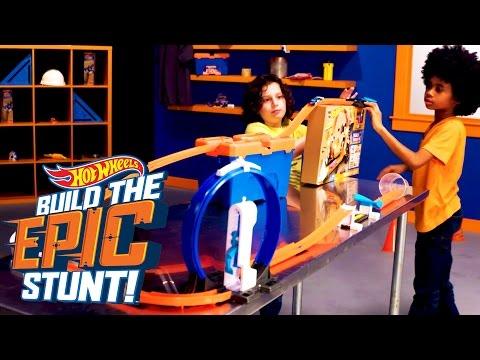 Jump It! | Build the Epic Stunt | Hot Wheels