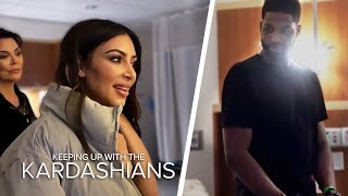 Kim And Tristan Thompson Come Face To Face In Khloe