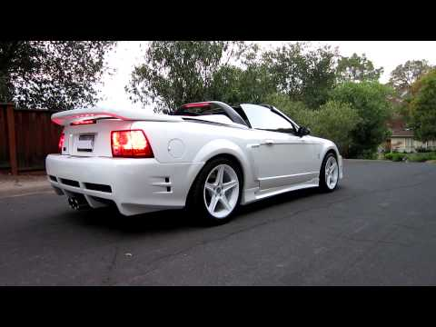 99 Ford Mustang SVT Cobra Convertible - Supercharged - Saleen S351