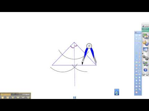 Mr. Teschner's Math - Construct the Incenter of a Triangle