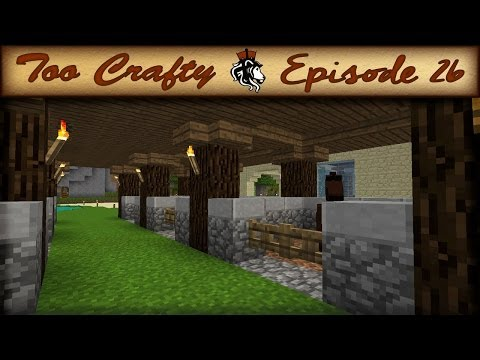 Minecraft Horse Stables - Too Crafty - 26