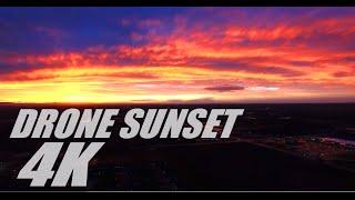 Epic Drone Sunset Timelapse in 4K Boise Idaho