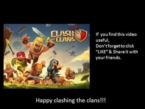 Easy way on how to get free gems in clash of clans using app.