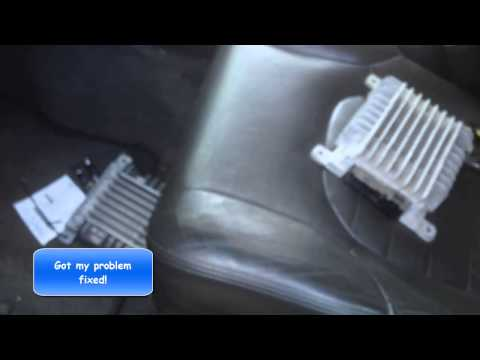 05 06 07 NISSAN Pathfinder How to Fix Stereo and Radio with No Sound (i fix it)