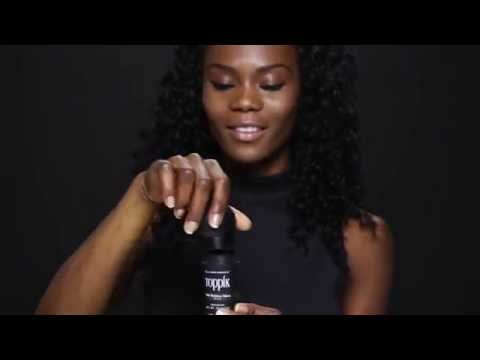 How to Get a Fuller Hairline by Applying Toppik Hair Building Fibers, Featuring Noellie