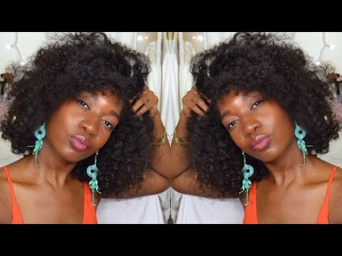 Soft & Fluffy Twist Out On Natural Hair | How To Get Big Naturally Curly Hair | Heatless Curls
