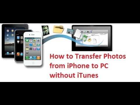 How To Transfer Photos From iPhone To Computer without itunes - NO JAILBREAK 2017!