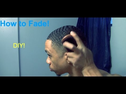 How to Fade Your Own Hair (#2 ATG w/ Waves)  - Cut