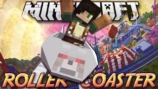 Minecraft ITA - Mod: MONTAGNE RUSSE - Giro della Morte, Caduta Libera, Avvitamento, Roller Coaster