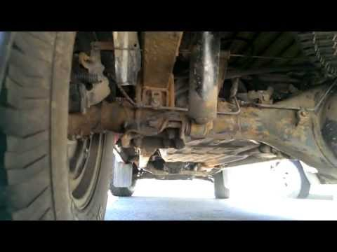 99 Tacoma Leaf Spring Replacement, Salvaging the Stuck Shackle