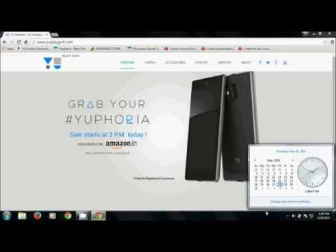 How to buy Yu Yuphoria on the Flash Sale day from Amazon