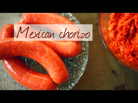 Mexican chorizo - How to make homemade sausage series