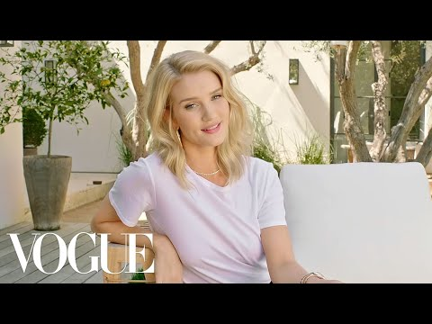 73 Questions With Rosie Huntington-Whiteley | Vogue