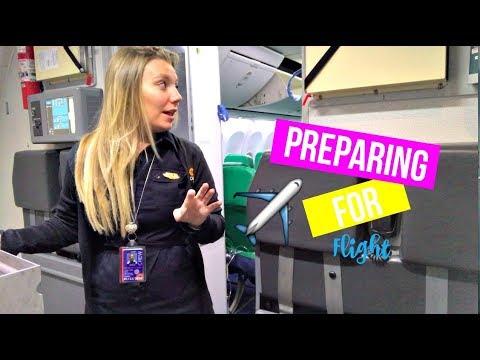 Before We Fly | Flight Attendant Vlog