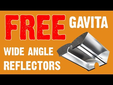 Do You Want A FREE Gavita Wide Angle Reflector?