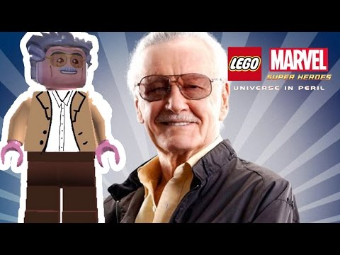 Lego Marvel Super Heroes Universe in Peril - Stan Lee Overview/Showcase [iPad]