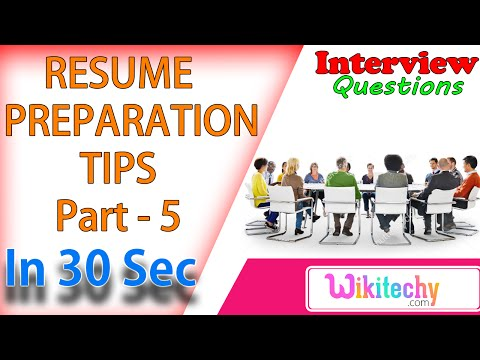How to write a Resume Education Section | Resume Preparation | wikitechy.com