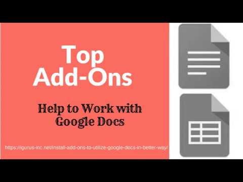 Top Addons to Boost Work Efficiency on Google Docs