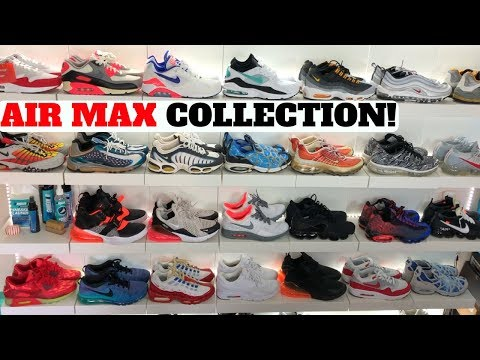 Air Max Sneaker Collection! I Got Popped Air Max From Ebay + More