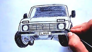 Niva seklini nece cekmek lazimdir (Ehedov Elnur) Как нарисовать машину Ниву Production Music courtesy of Epidemic Sound! Abune ol  https://youtu.be/KM38mn78vww https://youtu.be/VdtKAbggrIE