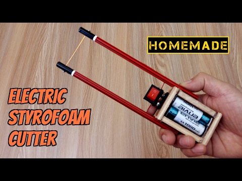 How to Make a Thermocol Cutter - Homemade