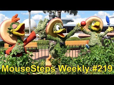 MouseSteps Weekly #219 Disney's Port Orleans Mardi Gras Parade; Epcot Flower & Garden Festival