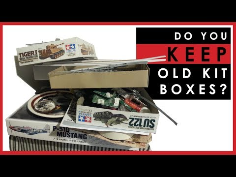 Do you keep the boxes of scale models you have built?