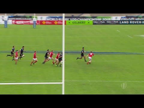 World Rugby U20 Highlights: New Zealand v Wales