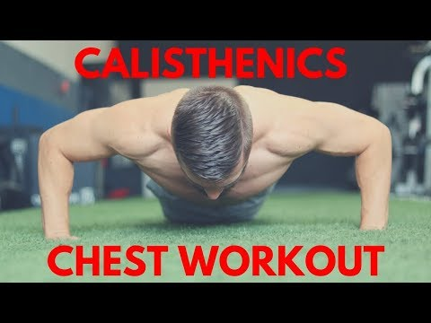 Calisthenics Chest Workout - SMASH Pecs in 10 Minutes!