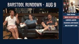 Barstool Rundown - August 9, 2018