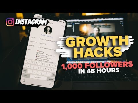 4 steps how to grow on INSTAGRAM to 1,000 followers in 48 hours *real advice [2018 Algorithm]