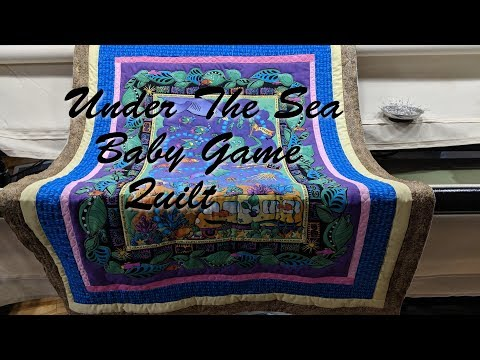 Under The Sea Baby Game Quilt