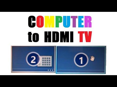 Windows 10 to HDMI TV