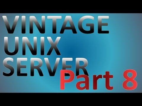 Vintage UNIX Server Progress Update 4 - Optical Drive Upgrade