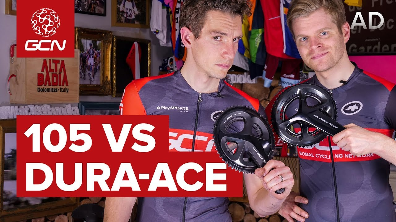 Shimano 105 Vs Shimano Dura-Ace | What's The Difference