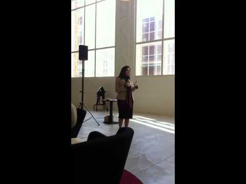 Invigningstal av ambassadör Najla M. AlQassimi från Förenade Arabemiraten