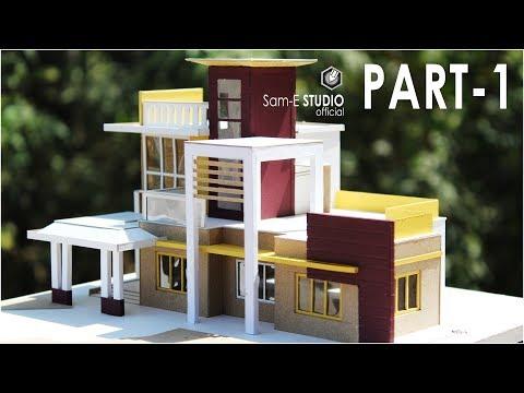 MODERN VILLA | How to make realistic villa house | PART 1