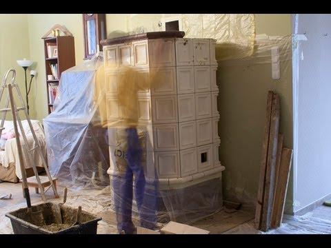 DIY Tile Stove, cserépkályha