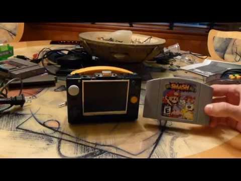 The 64 Boy Micro - The World's Smallest Portable Nintendo 64 Handheld