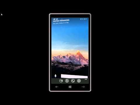 WhatsApp Video calling demo - WindowsBlog.in