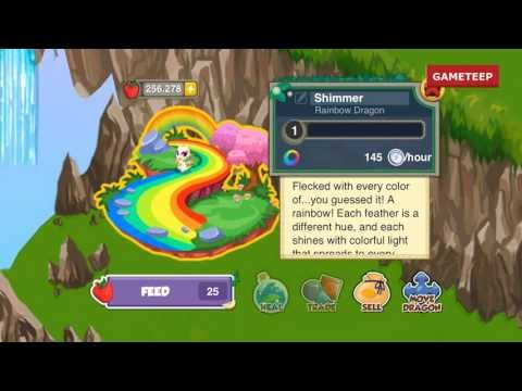 How to breed Rainbow Dragon in Dragon Story! WBANGCA!