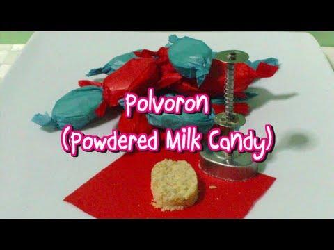 Polvoron (Powdered Milk Candy)