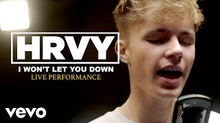 "HRVY - ""I Won't Let You Down"" Official Performance 