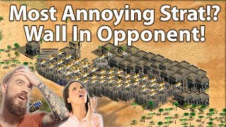 The Most Annoying Strategy #5 Wall In Your Opponent!