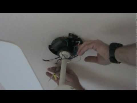 How to install a remote in a ceiling fan