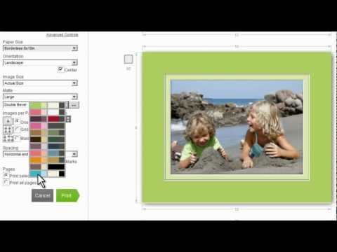 HP Photo Creations New Features