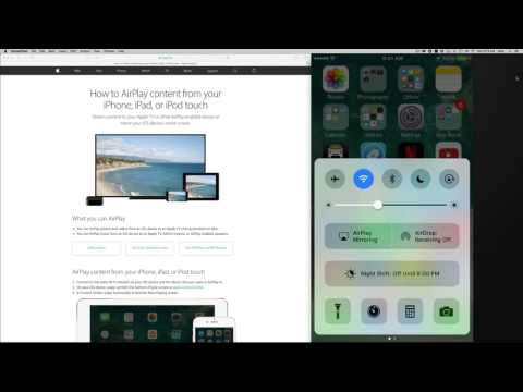 How to Airplay in iOS 10 iPod touch