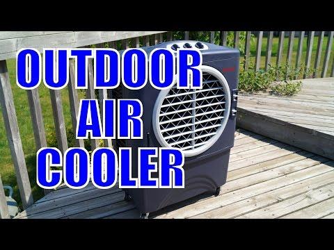 Honeywell Outdoor Air Cooler - Unbox & Demo - BBQFOOD4U