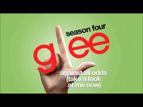Against All Odds (Take A Look At Me Now) | Glee [HD FULL STUDIO]
